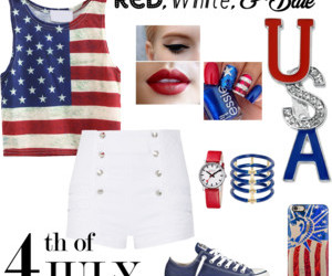 4th of july, beauty, and blue image