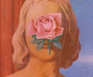 rose and woman image