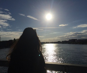 lifestyle, longhair, and sea image