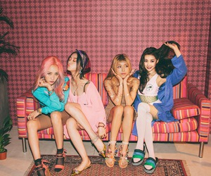 kpop, wonder girls, and aesthetic image