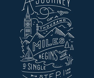 journey, quote, and travel image