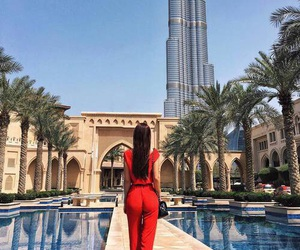 girl, Dubai, and beautiful image