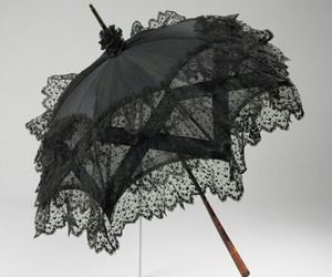 umbrella, black, and goth image