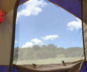 tent and took myself image
