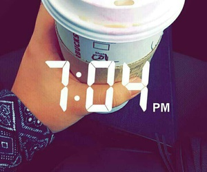 cold, starbucks, and snapchat image
