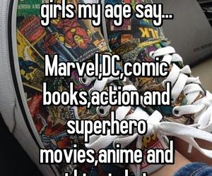 anime, manga, and Marvel image