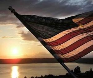 flag and america image