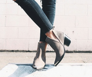 boots, style, and ootd image