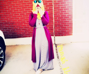 hijab, style, and K image