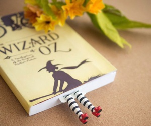 book, Wizard of oz, and bookmark image