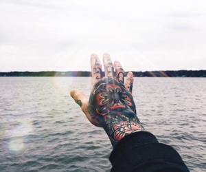 tattoo and sea image