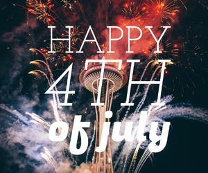easel and fourth of july image