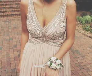 fashion, gown, and prom dresses image