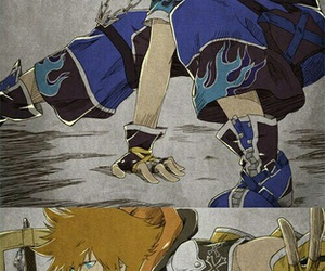 kingdom hearts and sora image