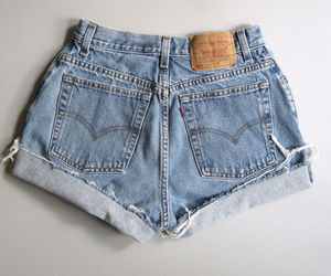 90s, ebay, and high waisted shorts image