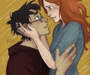 harry potter, ginny weasley, and burdge image