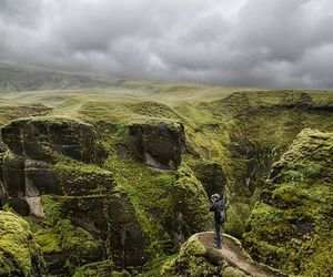 iceland, nature, and green image