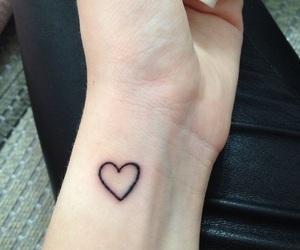 tattoo, heart, and grunge image