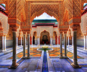 morocco, architecture, and art image