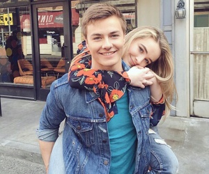 sabrina carpenter, peyton meyer, and girl meets world image
