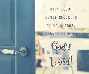 bible, door, and doubt image