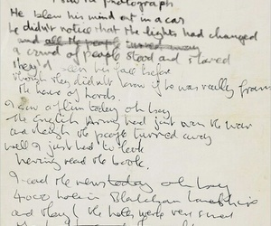 beatles, john lennon, and writing image
