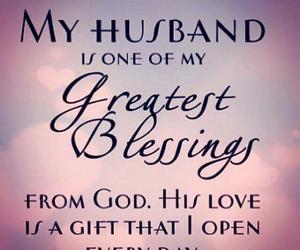 blessing, god, and husband image