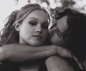 10 things i hate about you, cute, and heath ledger image
