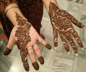 art, heena, and design image