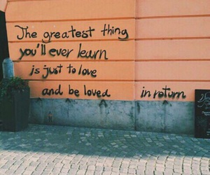 quotes, orange, and wall image