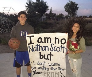 Prom, promposal, and cute image