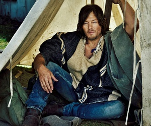 actor, norman reedus, and the walking dead image