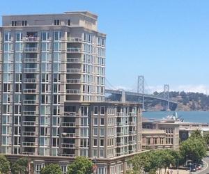 city, sf, and bridge image