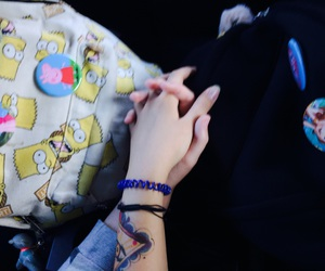 hands, 💜, and hold hands image