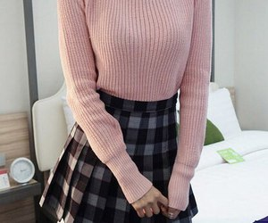fashion, school uniform, and lookbook image