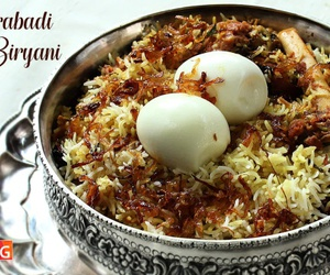 Ramadan, recipe, and biryani image
