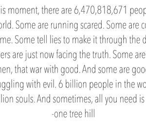 one tree hill, peyton sawyer, and quote image