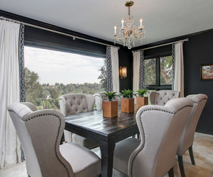 california, dining room, and home image