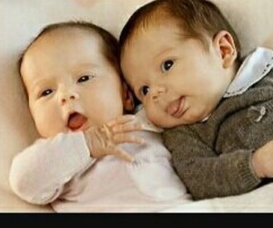 babys, sweet, and twins image