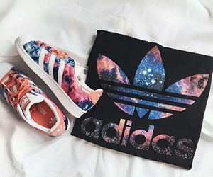 adidas, shoes, and galaxy image
