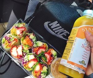 food, nike, and healthy image