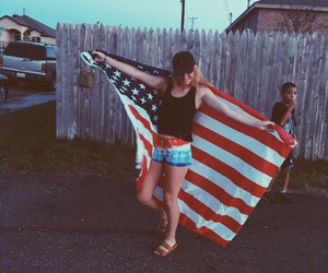 confidence, flag, and july image