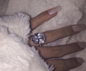tumbrl, nails, and ring image