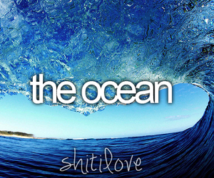 shit i love, ocean, and water image