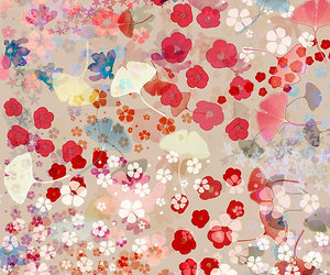 flowers, blossom, and pattern image