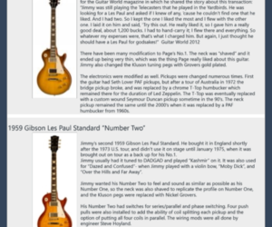 guitars and jimmy page image