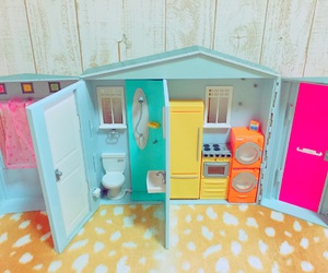 barbie, barbie house, and doll image