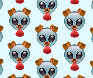 pattern, snapchat, and alien image