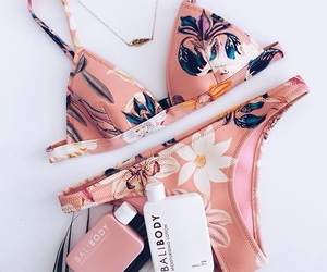 summer, bikini, and fashion image