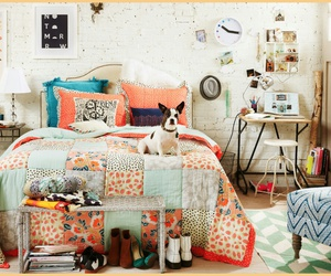 bed room, decorate, and idea image